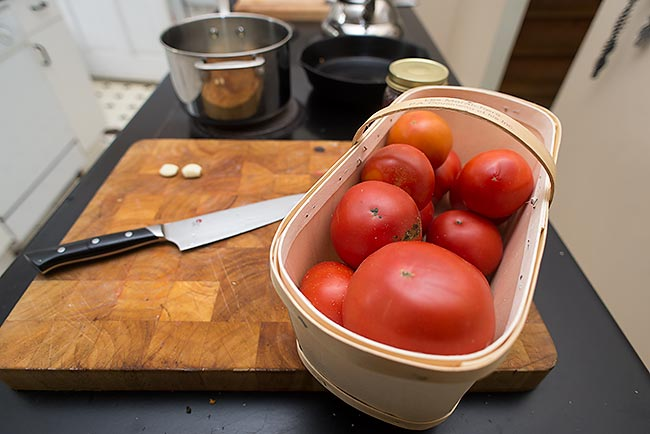 Visual Recipe: Tomato Sauce